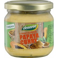 Pate vegetal dennree cu papaya si curry