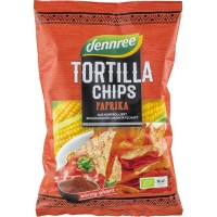 Tortilla chips cu ardei eco
