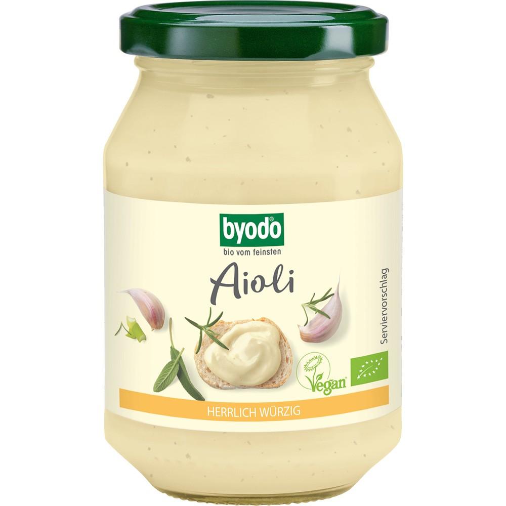 Aioli maioneza cu usturoi vegan bio