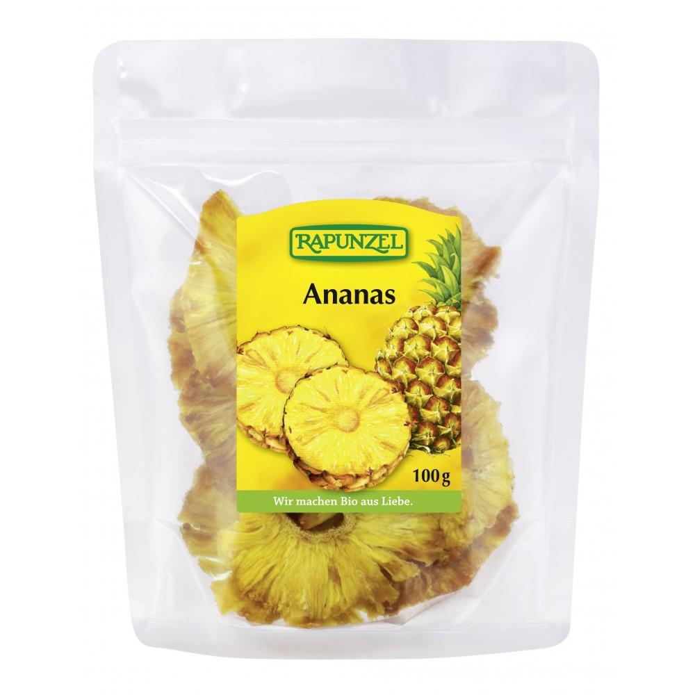 Ananas rondele feliat uscat
