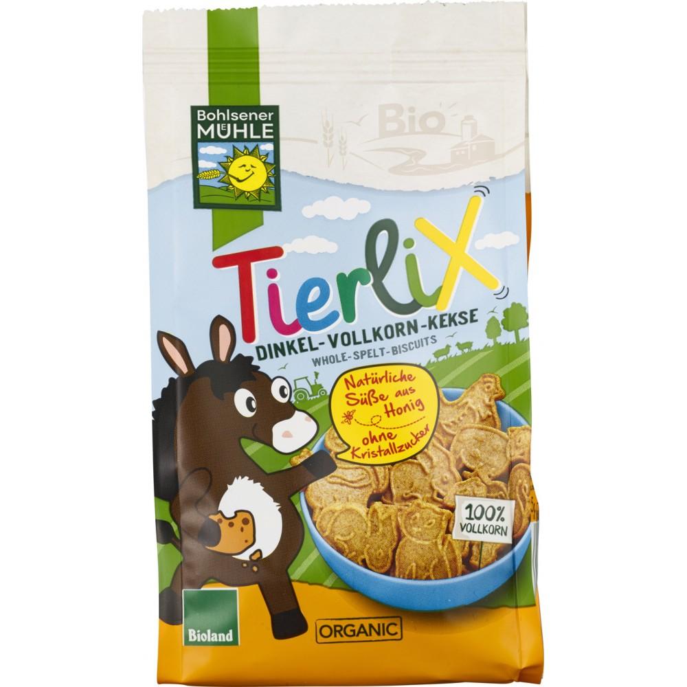 Biscuiti animalute din spelta integrala indulciti cu miere