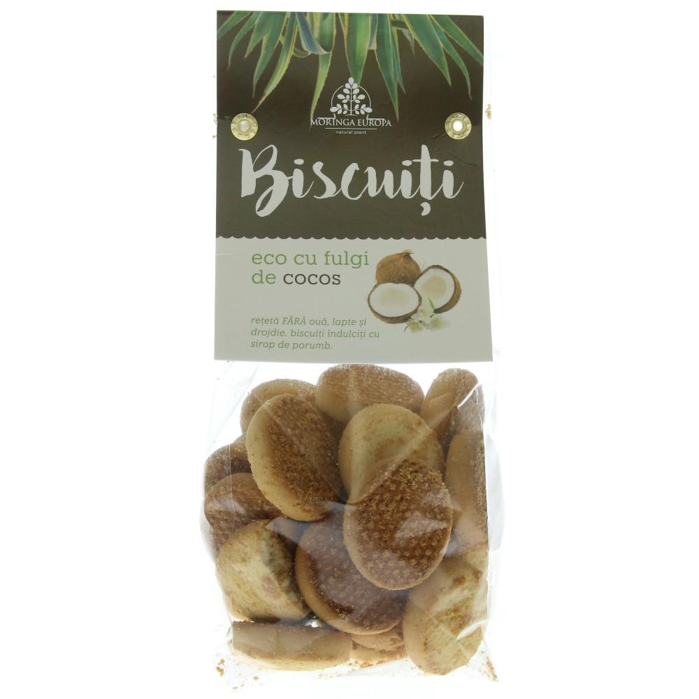 Biscuiti cu fulgi de cocos