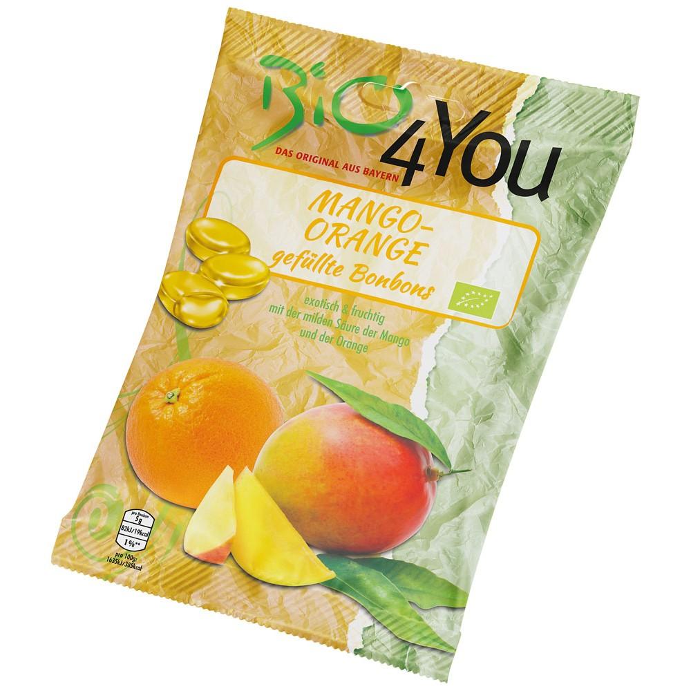 Bomboane cu mango si portocala FARA GLUTEN