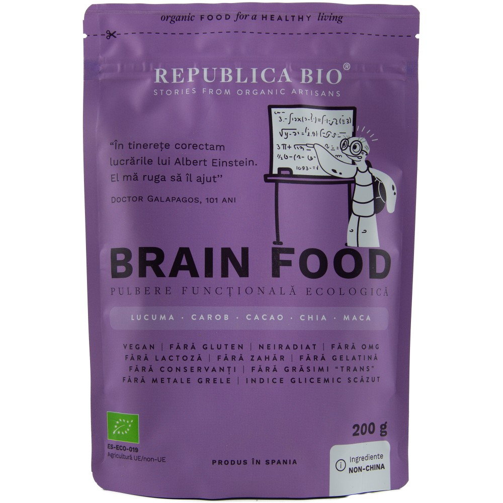 Brain Food, pulbere functionala