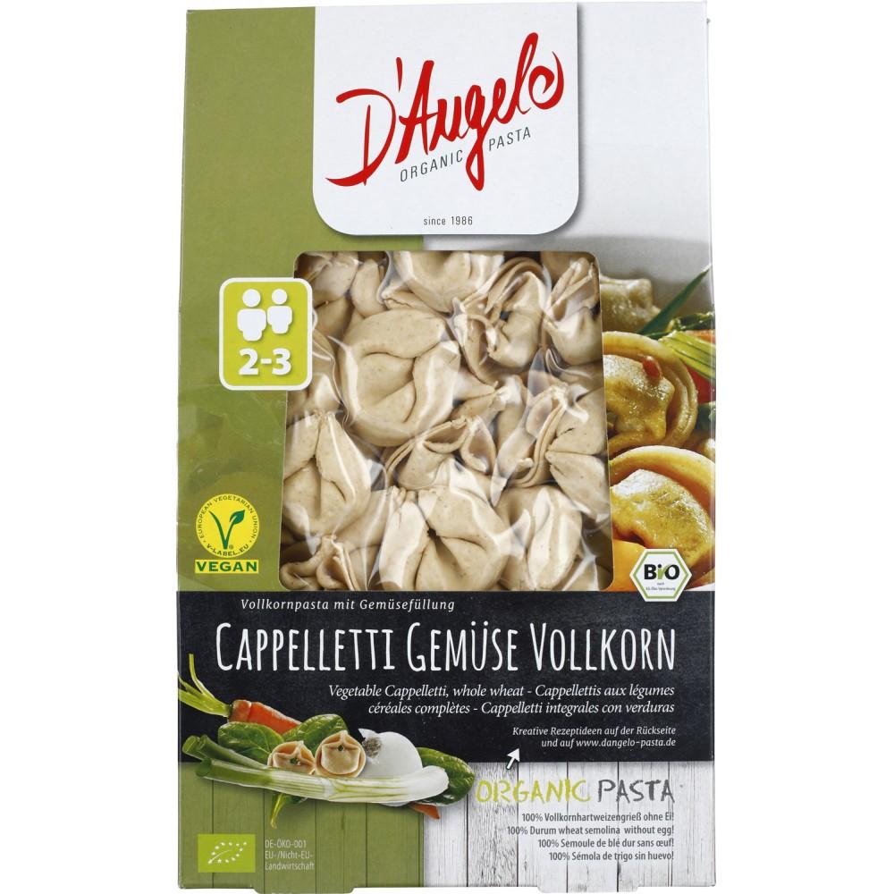 Cappelletti din cereale integrale umplute cu legume
