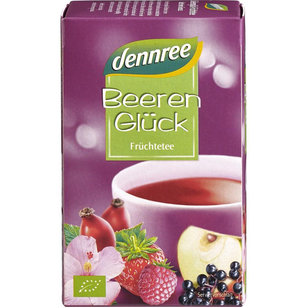 Ceai cu fructe de padure bio