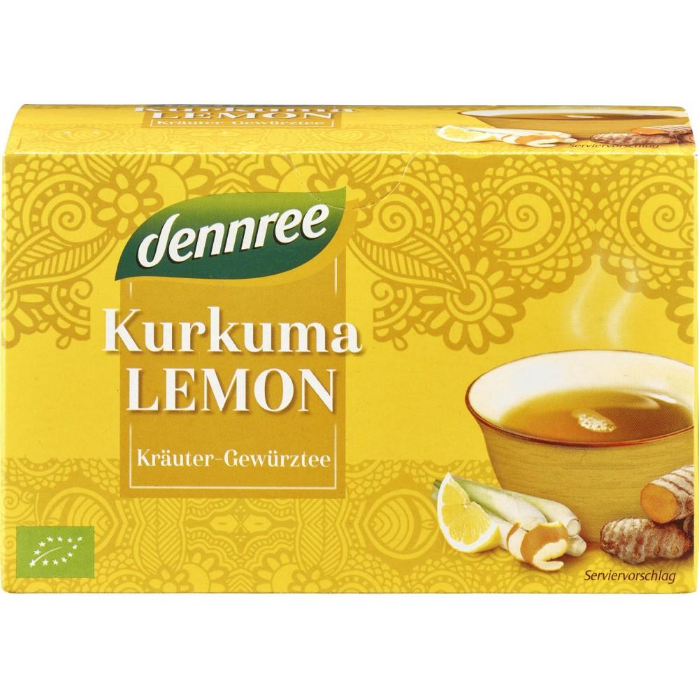 Ceai curcuma si lamaie 20 plicuri