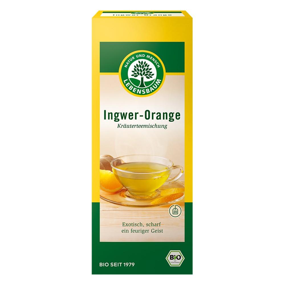 Ceai de ghimbir cu portocale x20 plicuri