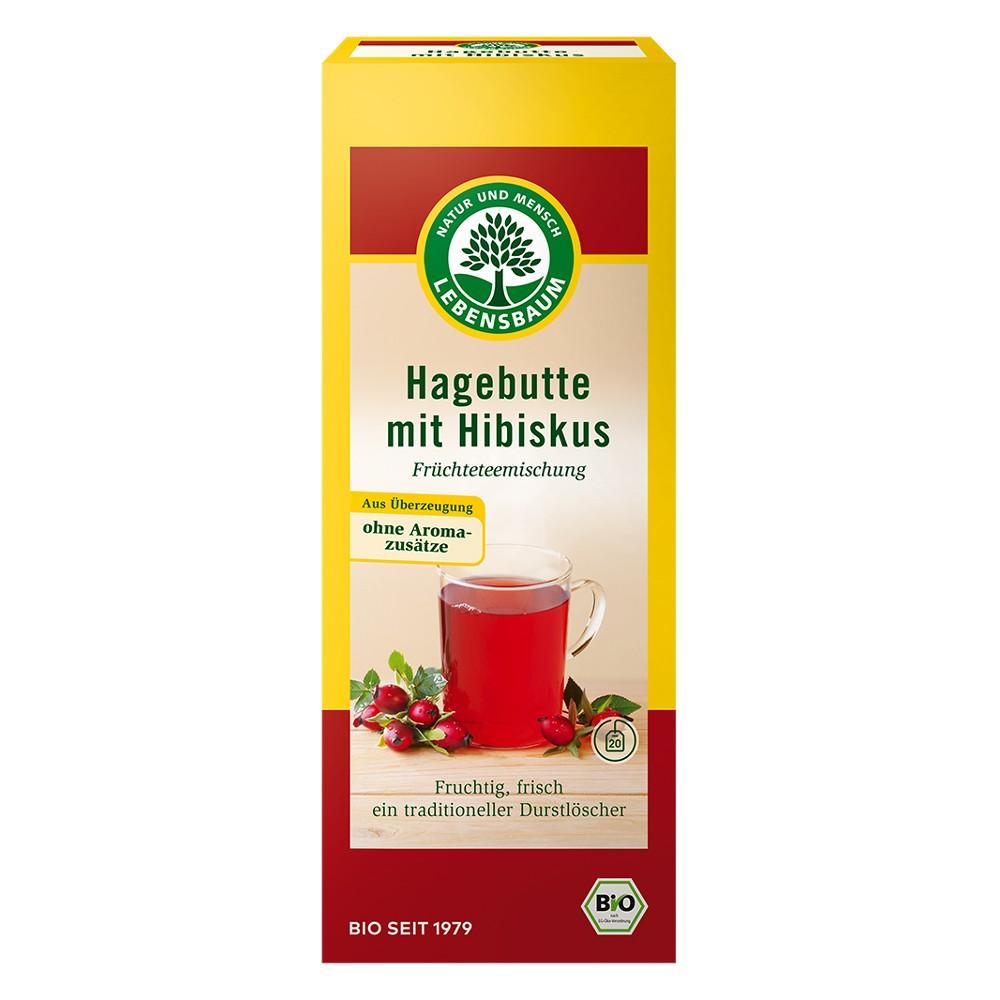 Ceai de macese si hibiscus bio