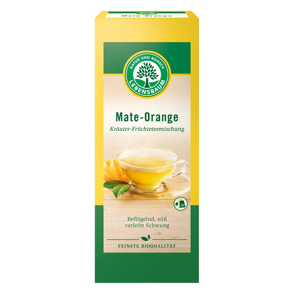 Ceai de Mate si portocala x20 plicuri