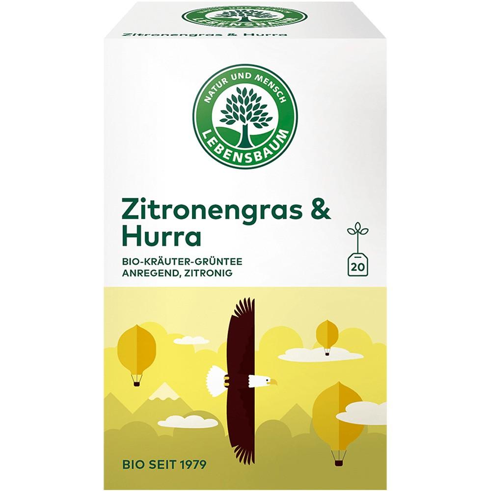 Ceai Iarba de lamaie & Hurra  x20 plicuri