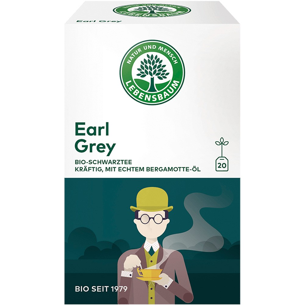 Ceai negru Earl Grey x20 plicuri