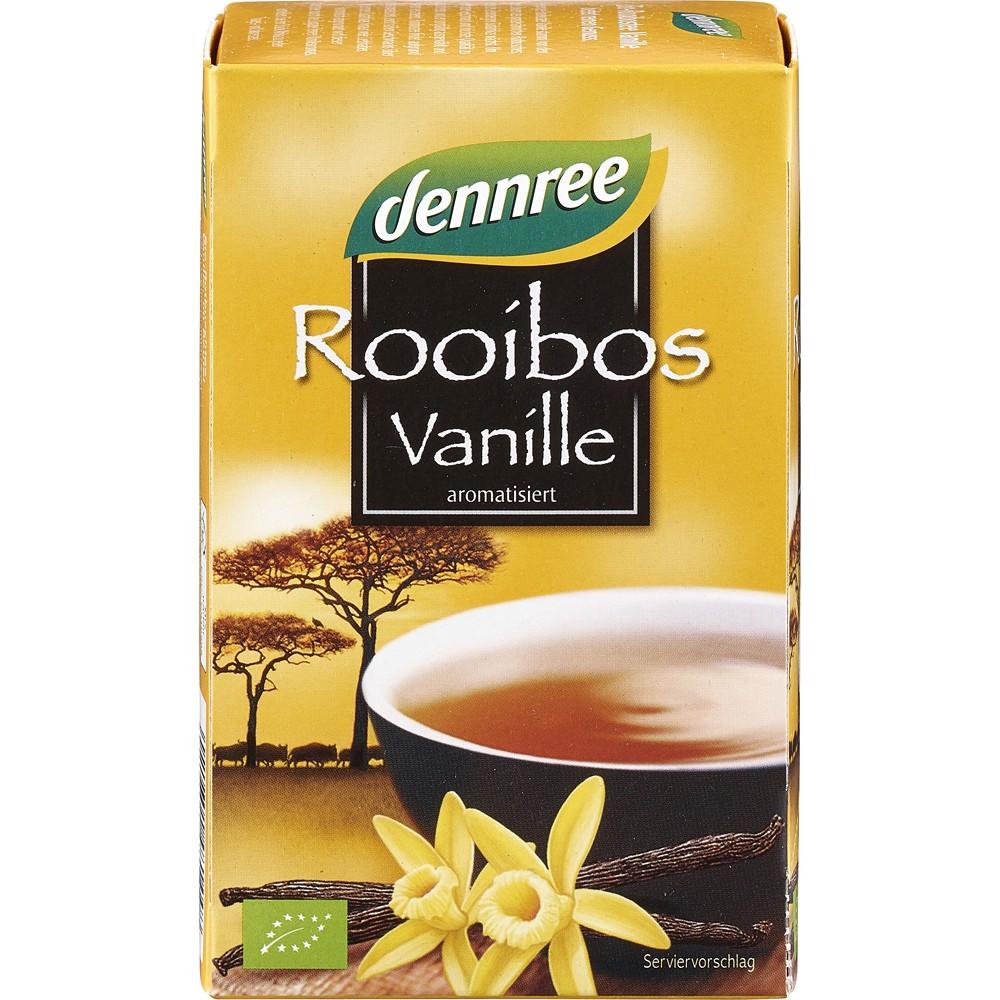 Ceai Rooibos cu vanilie bio