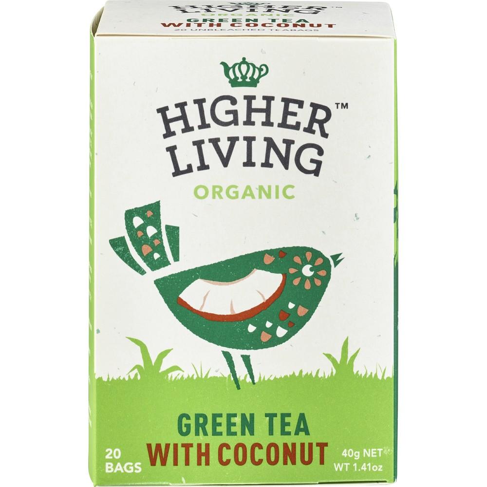 Ceai verde cu cocos 20 plicuri