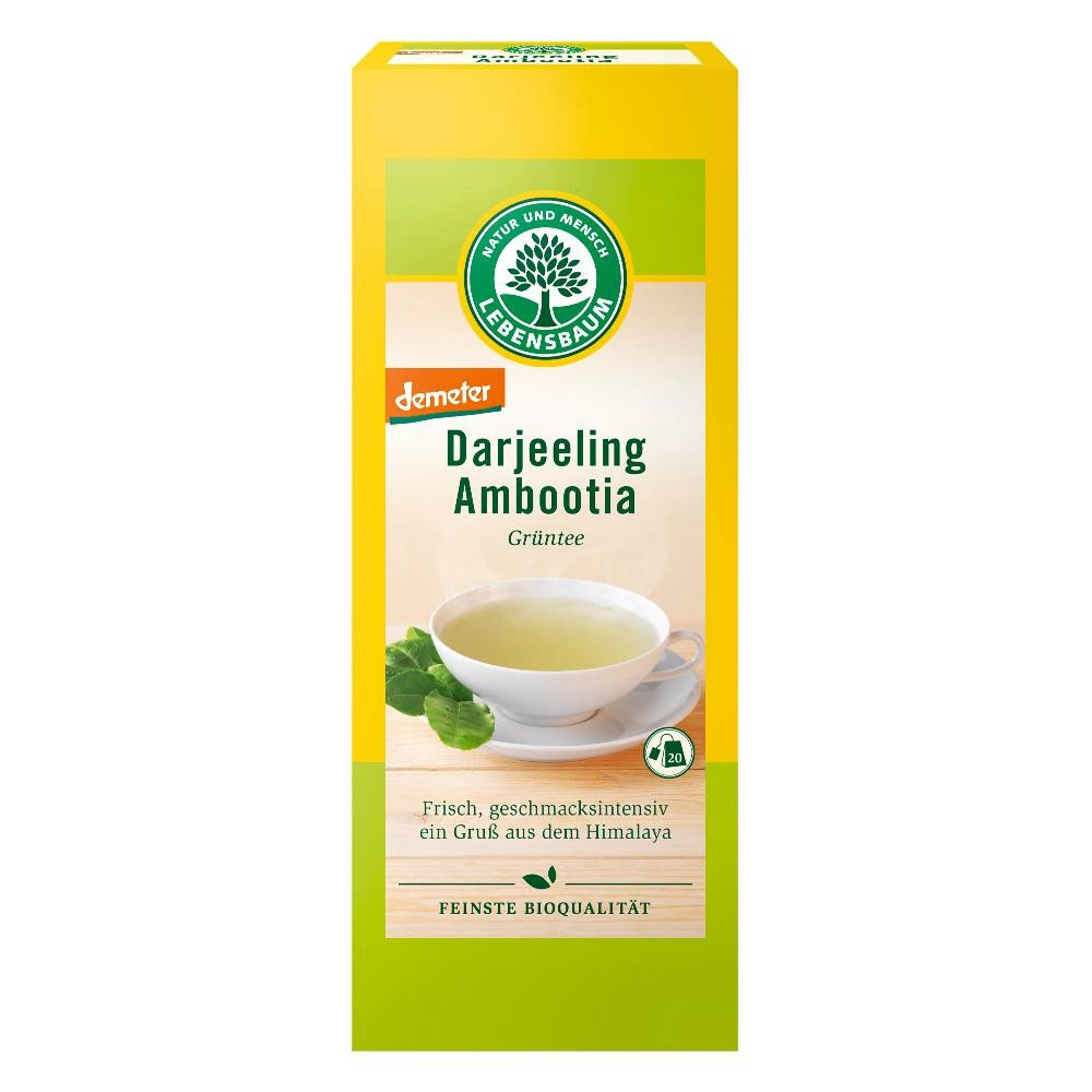 Ceai verde Darjeeling DEMETER x20 plicuri