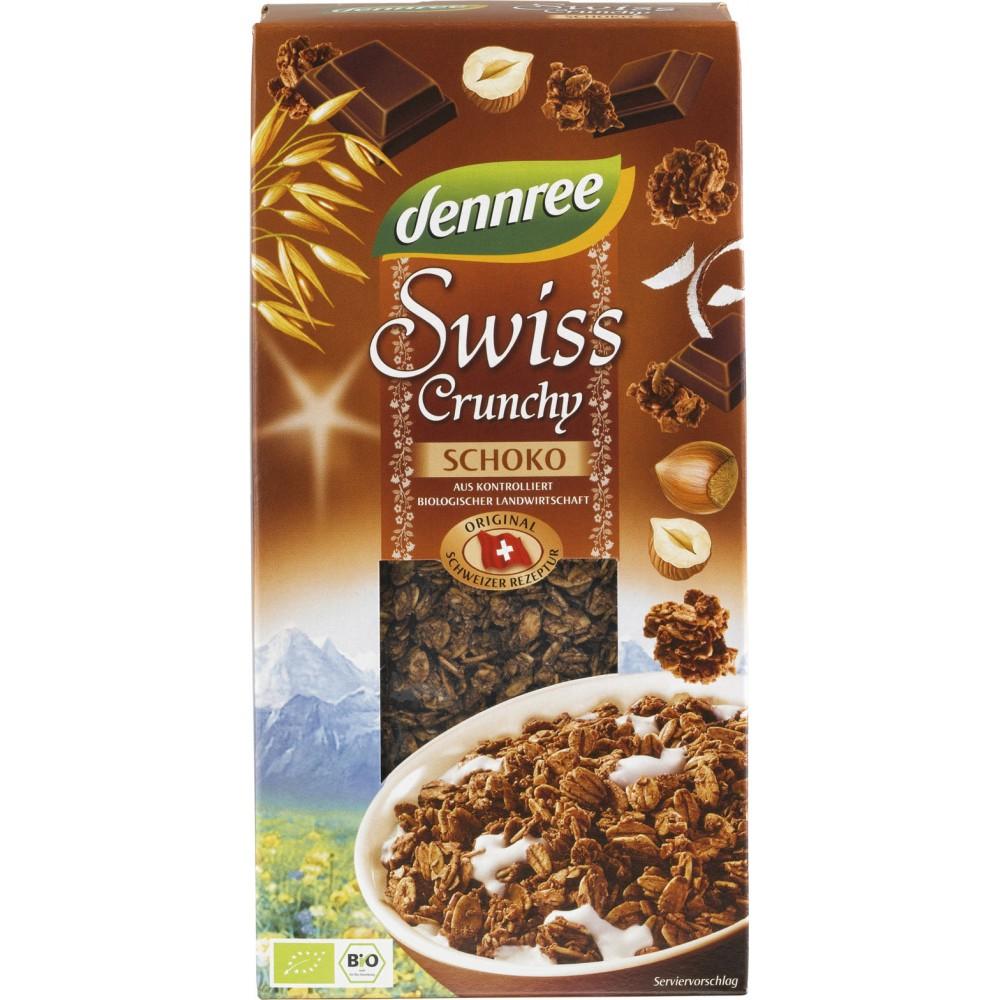 Cereale crocante cu alune si ciocolata