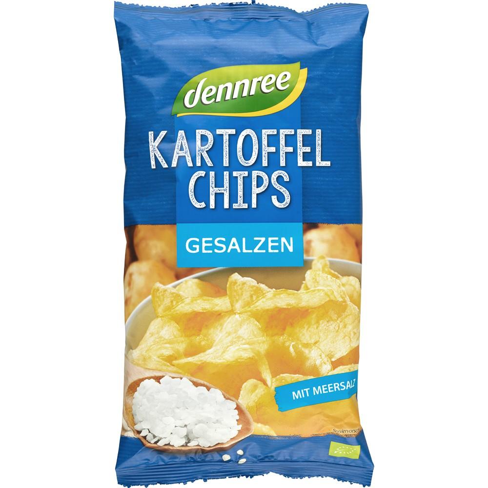 Chipsuri din cartofi cu sare