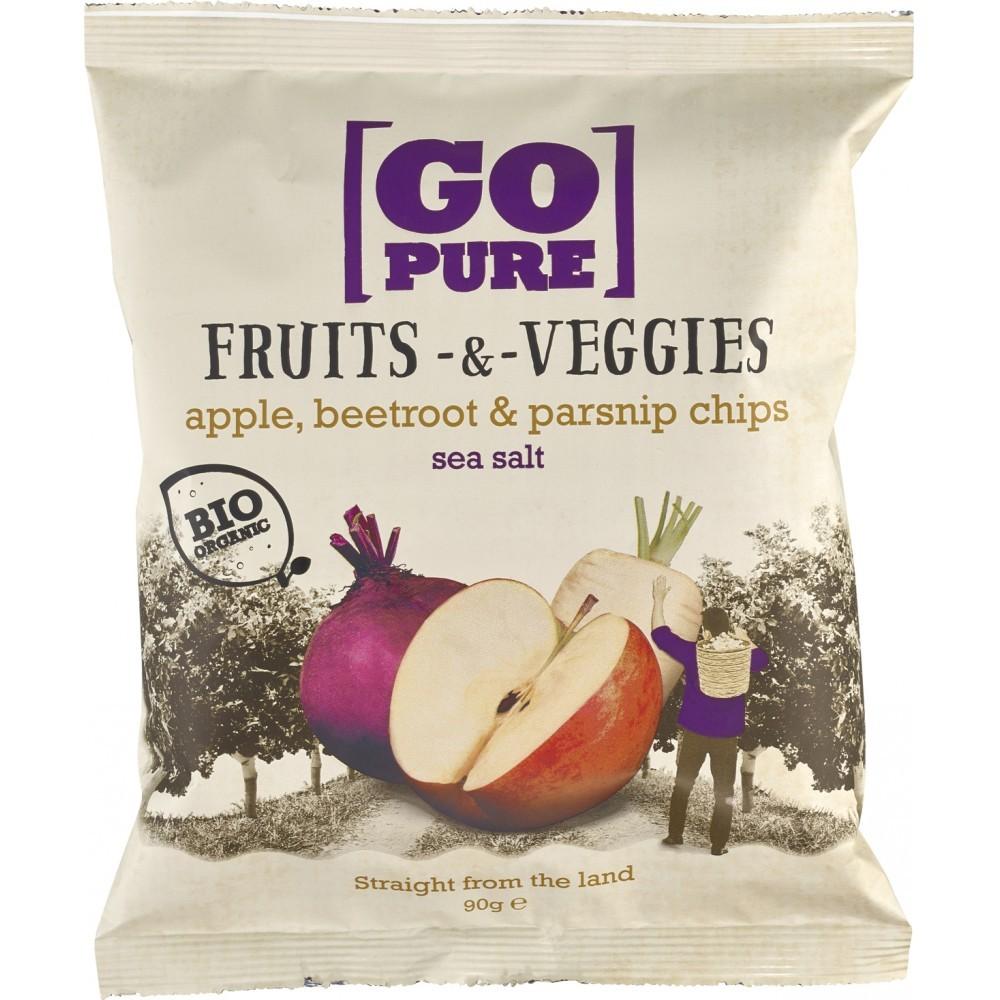 Chipsuri din fructe si legume cu sare de mare FARA GLUTEN
