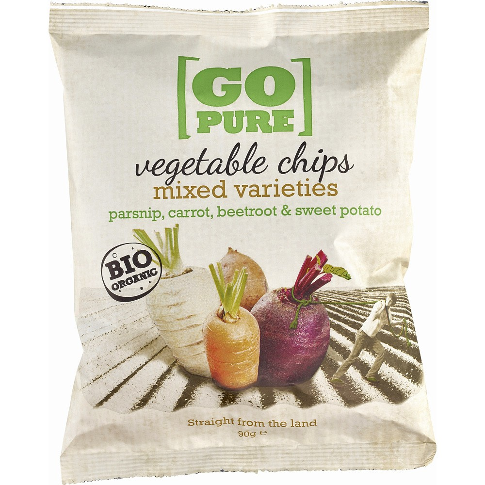 Chipsuri din legume bio