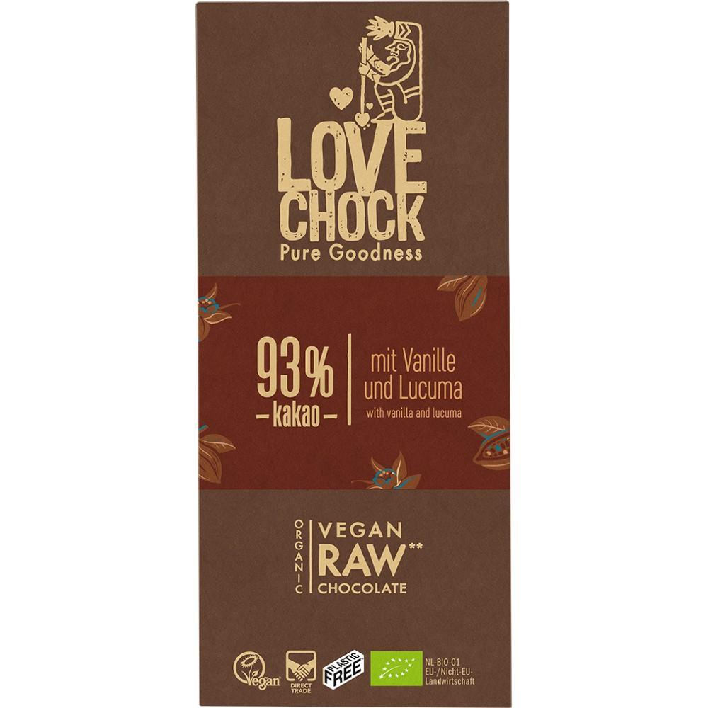 Ciocolata RAW VEGANA cu 93% cacao
