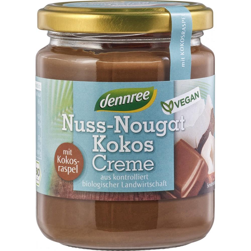 Crema nuss-nougat cu cocos VEGANA