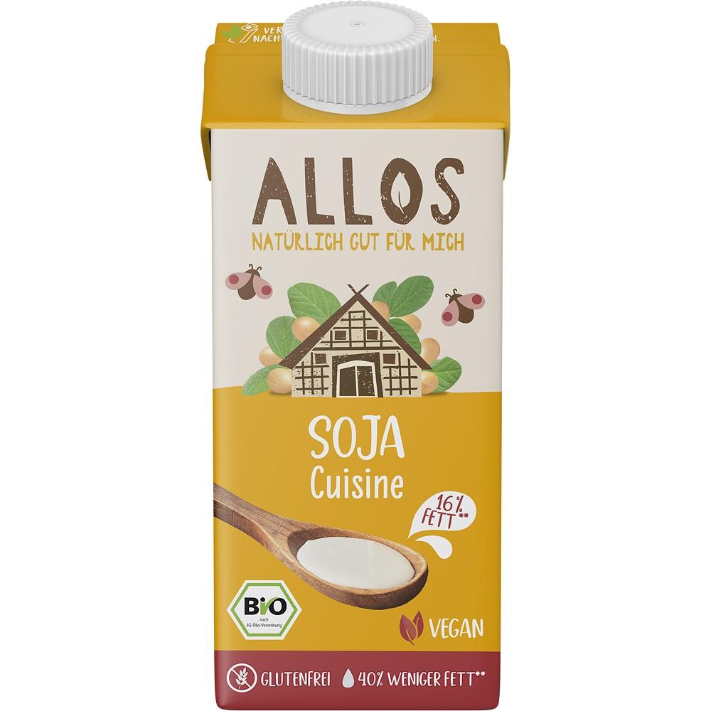 Crema de soia lichida pentru gatit FARA GLUTEN