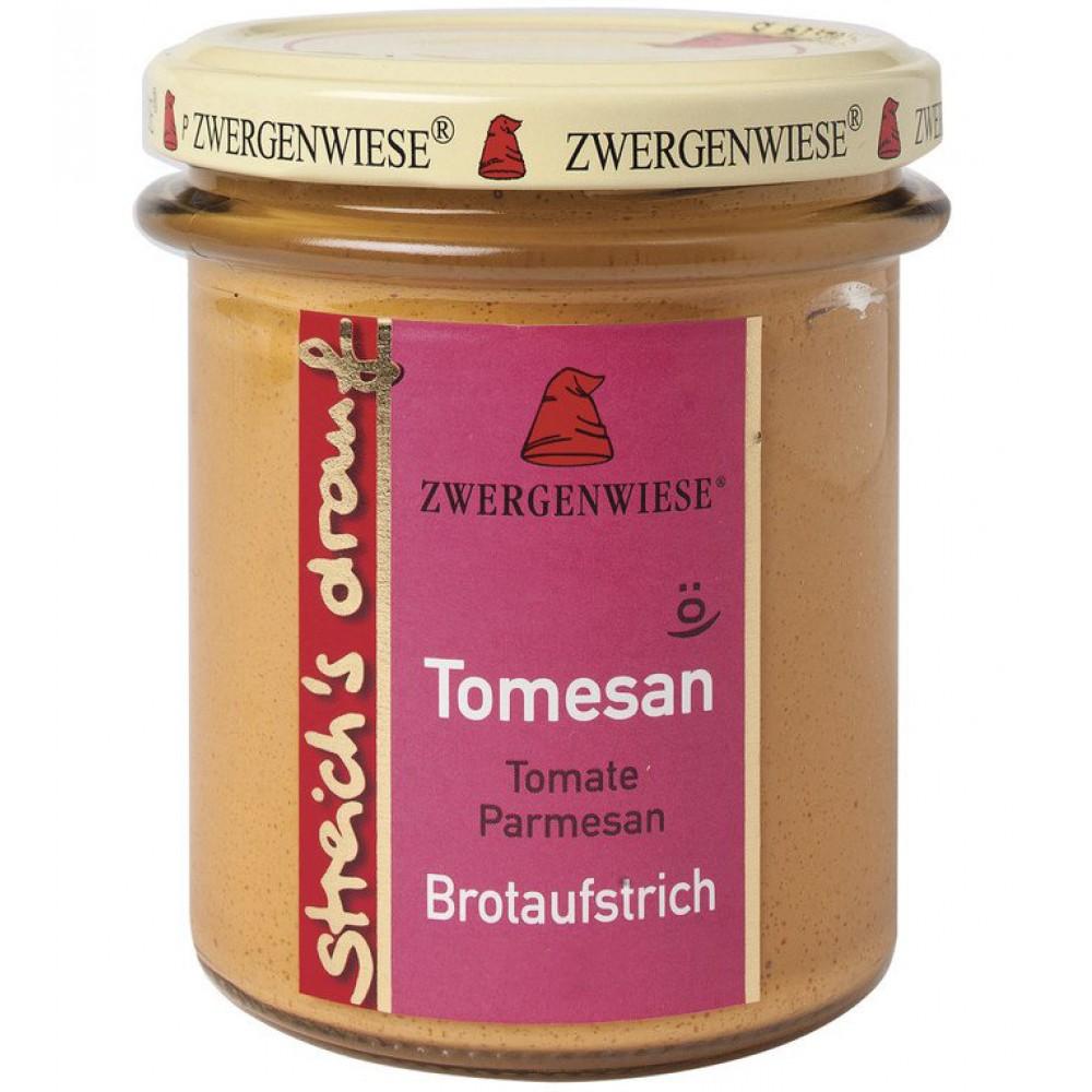Crema tartinabila vegetala Tomesan cu tomate si parmezan FARA GLUTEN
