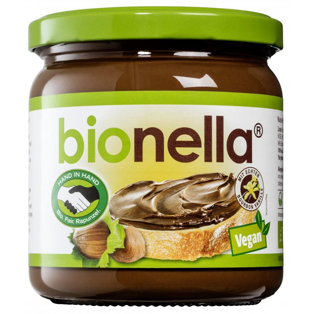 Crema vegana de alune cu ciocolata Bionella