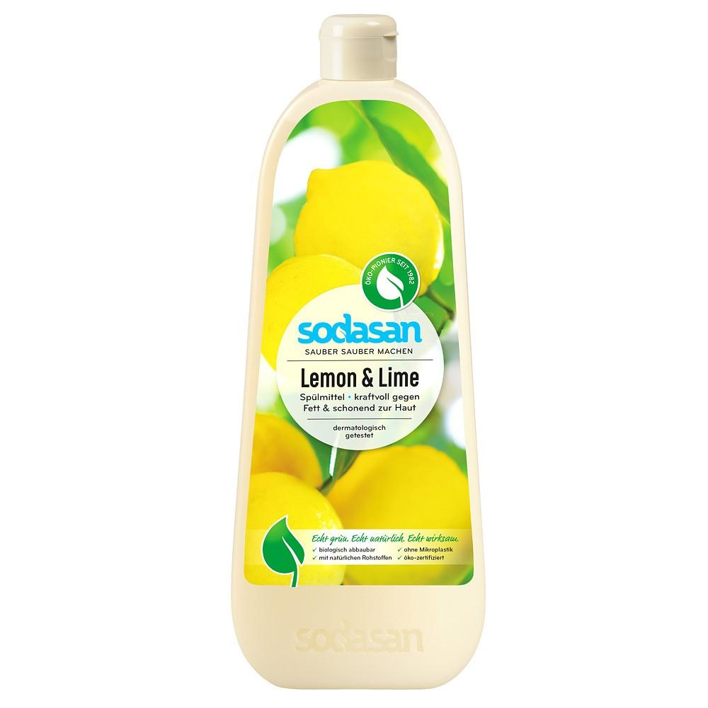 Detergent bio de vase lichid cu lamaie