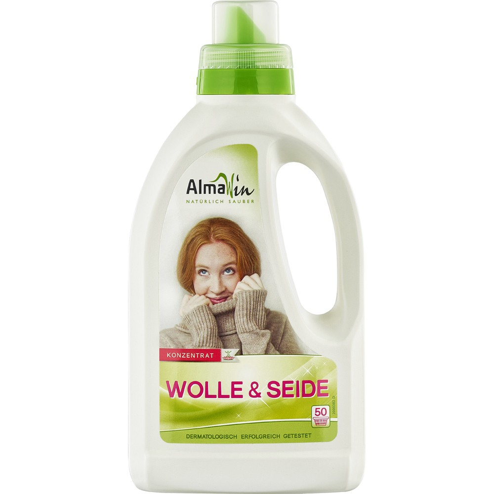 Detergent din lana si matase