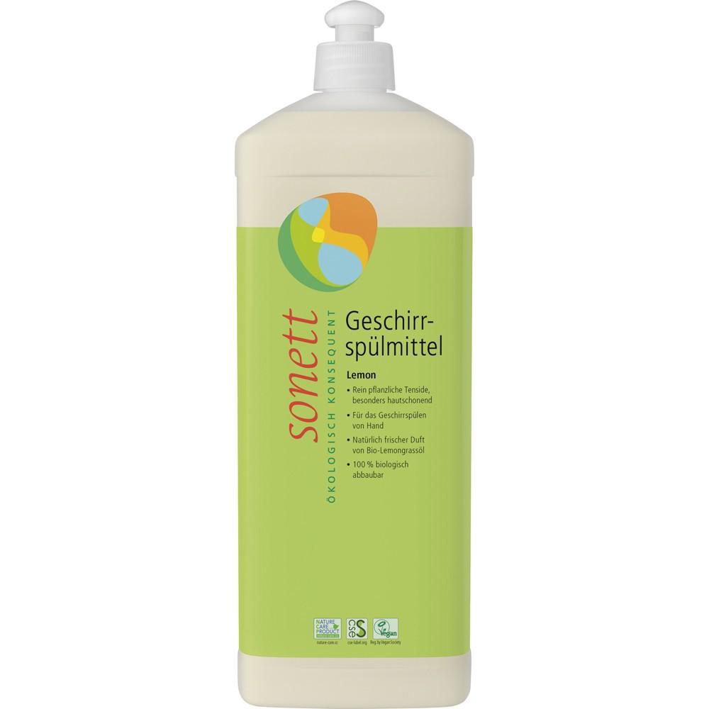 Detergent ecologic pentru spalat vase cu lamaie