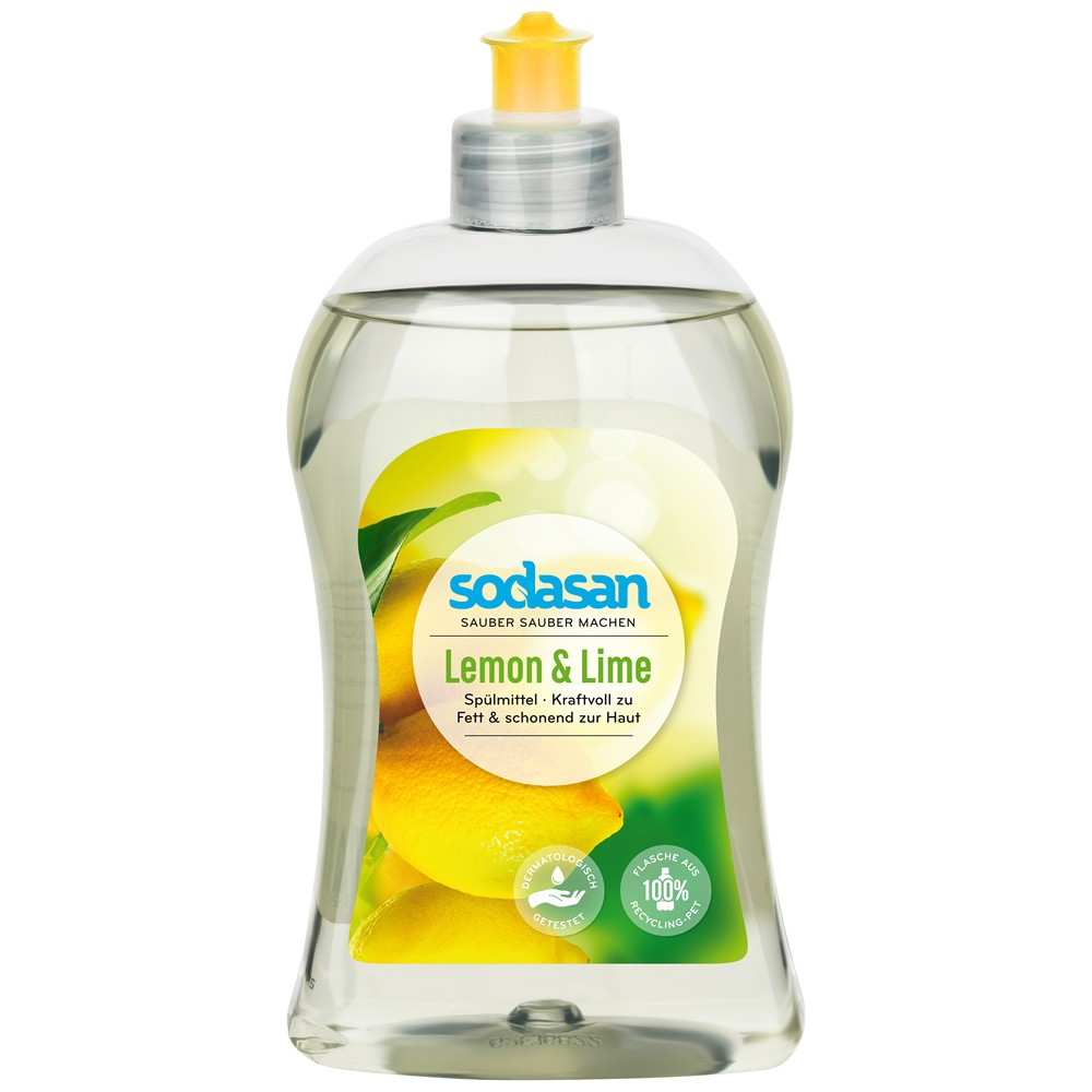 Detergent lichid de vase cu lamaie