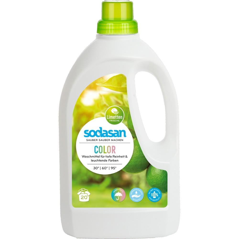 Detergent lichid pentru rufe colorate cu limete