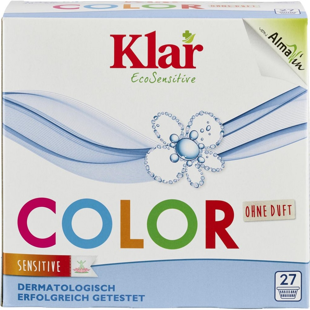 Detergent pudra pentru rufe colorate fara parfum