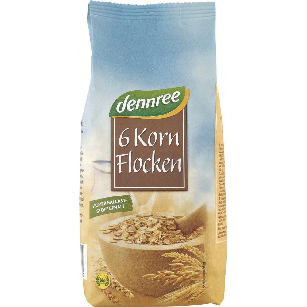 Fulgi din 6 cereale