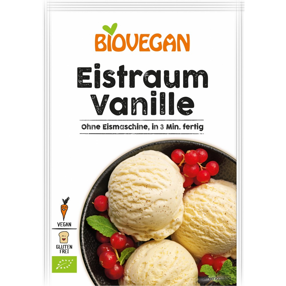 Inghetata de vanilie pudra bio