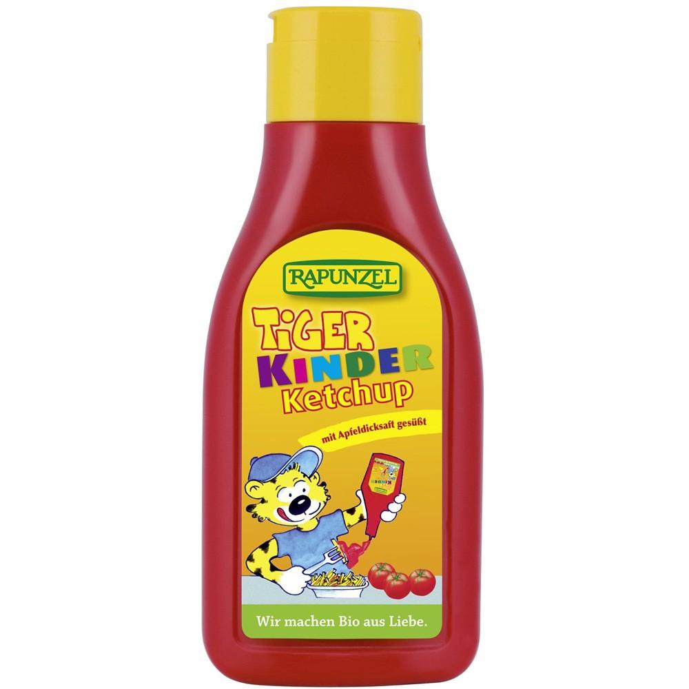 Ketchup Tiger Pentru Copii Indulcit cu nectar de mere