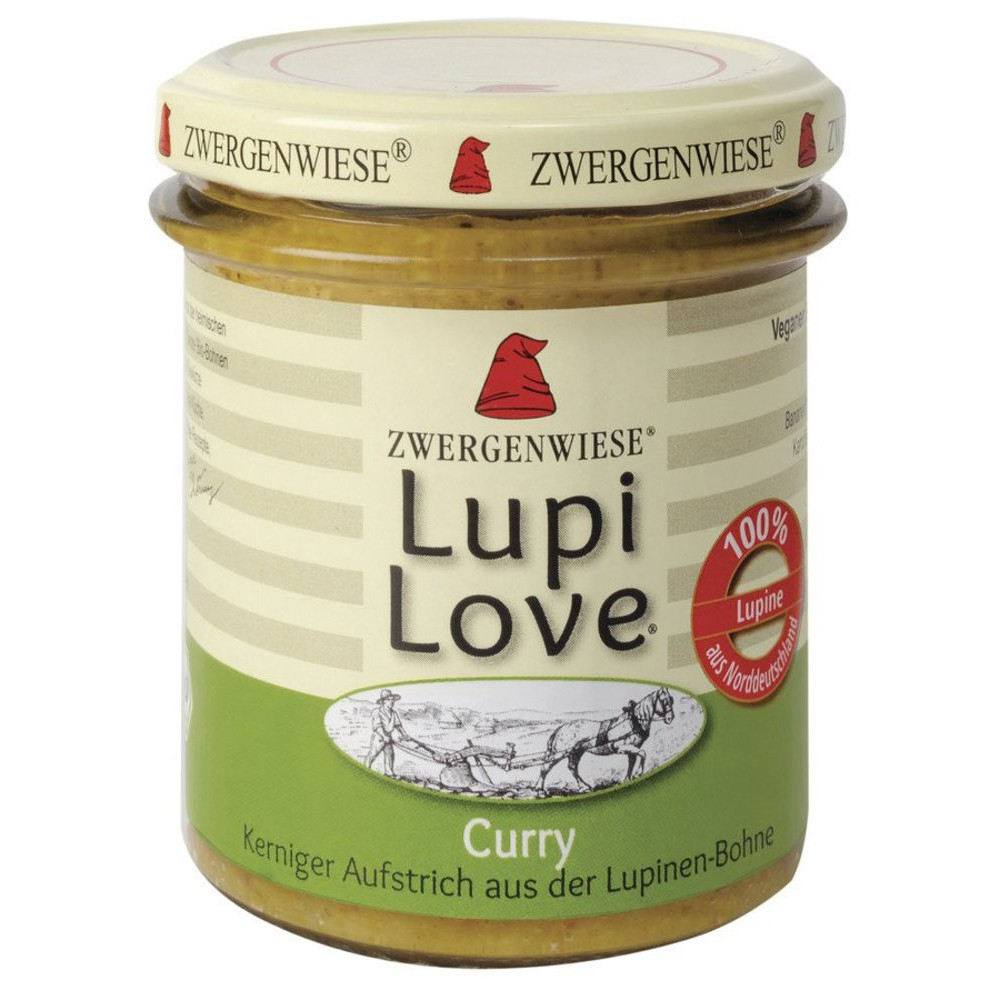 Lupi Love crema tartinabila din lupin si curry FARA GLUTEN