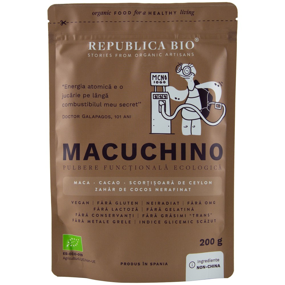 Macuchino pulbere functionala
