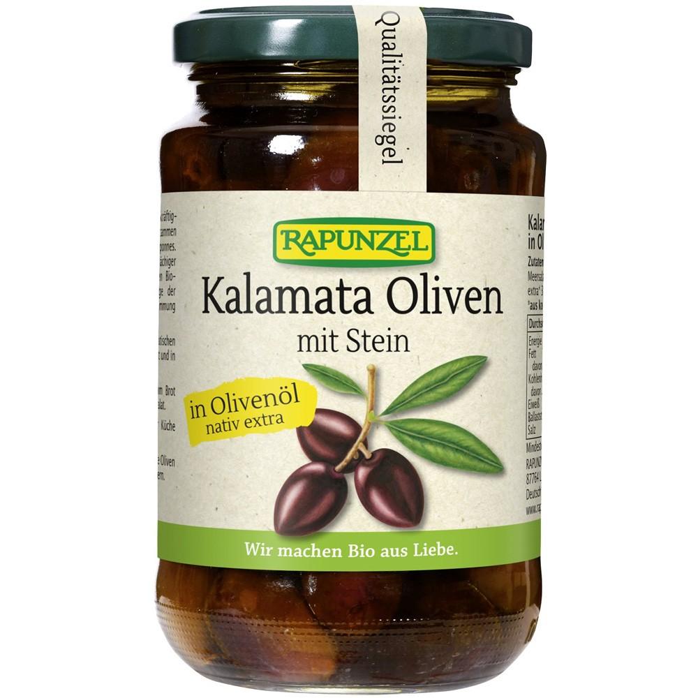 Masline Kalamata violet cu Samburi in ulei de masline