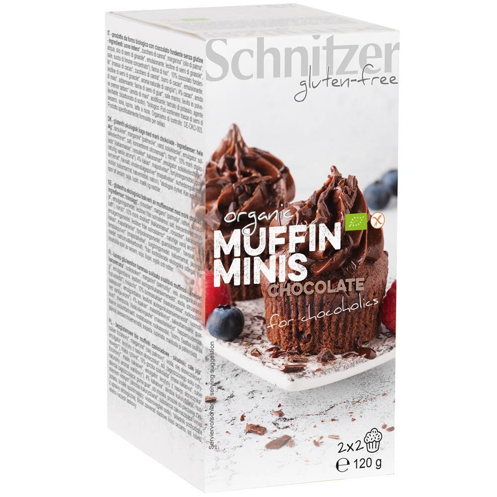 Mini muffins cu ciocolata FARA GLUTEN