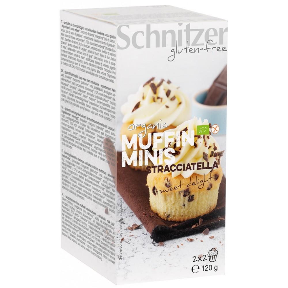 Mini muffins cu Stracciatella FARA GLUTEN
