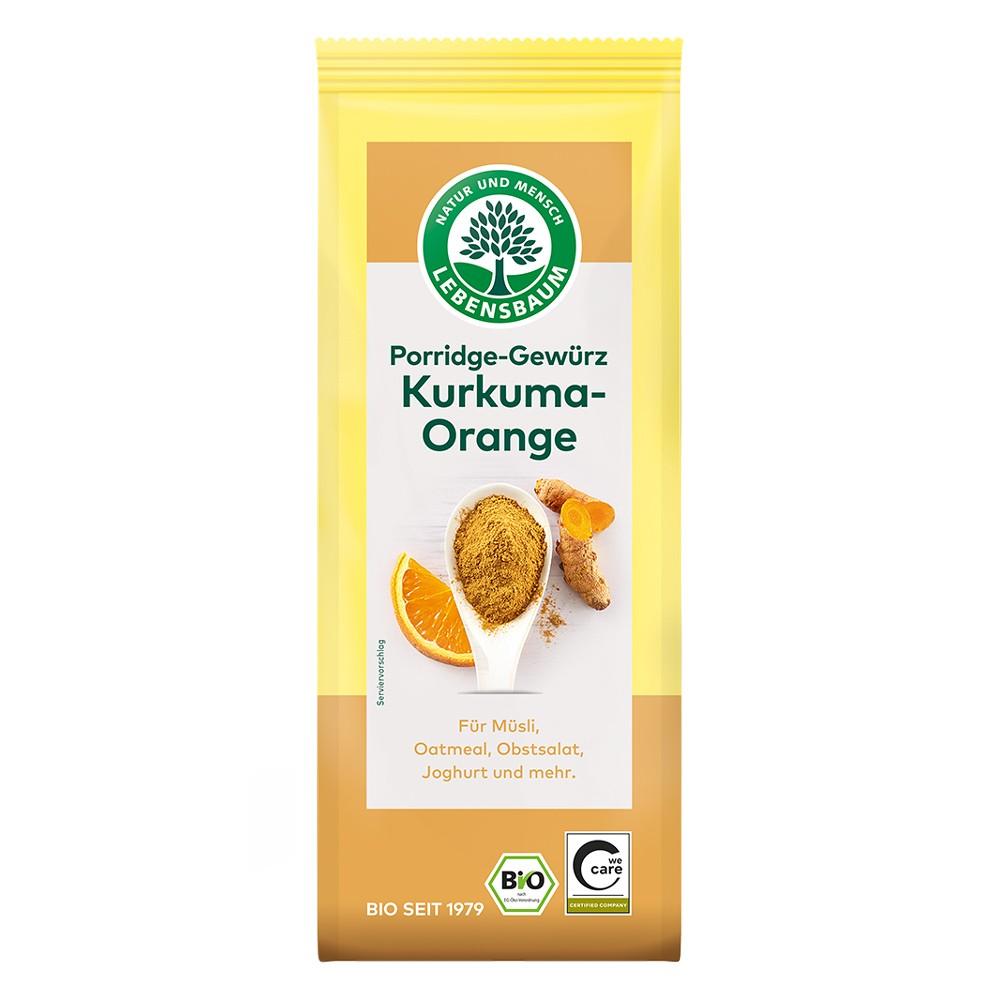 Mix de condimente pentru terci cu curcuma si portocala