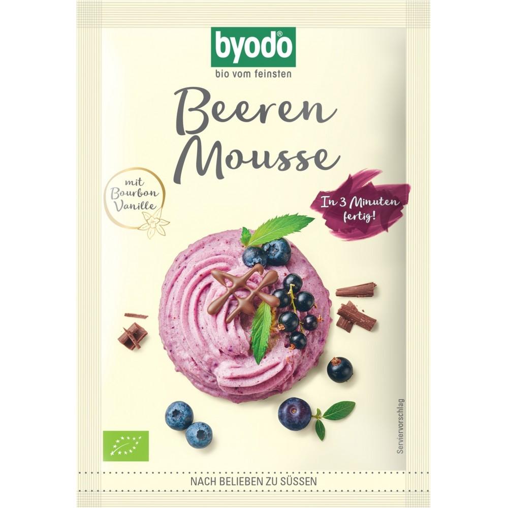 Mix pentru mousse cu fructe de padure FARA GLUTEN