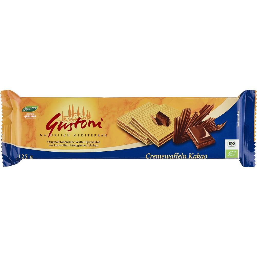 Napolitane cu crema de cacao