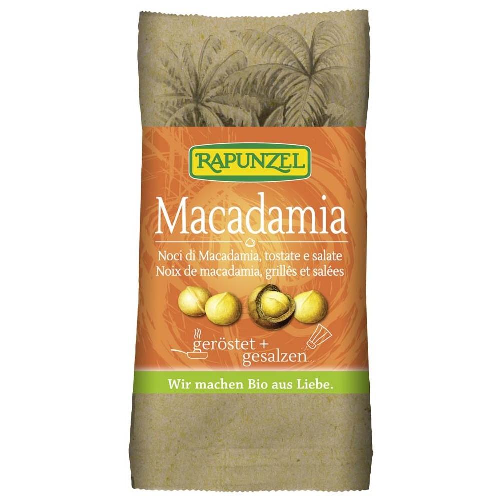 Nuci Macadamia prajite si sarate