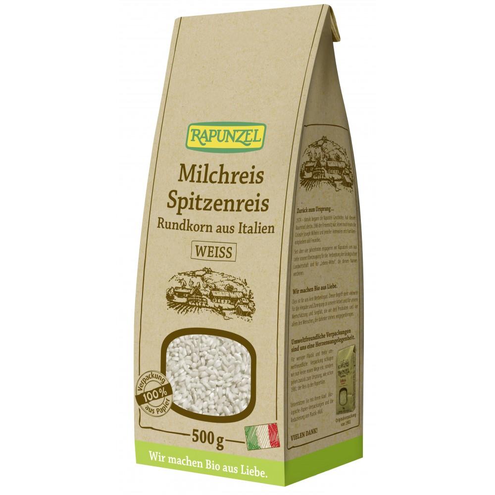 Orez de lapte cu bob rotund alb