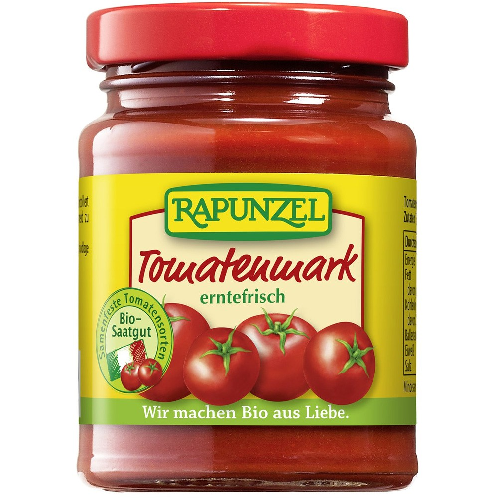 Pastă bio de tomate 22%