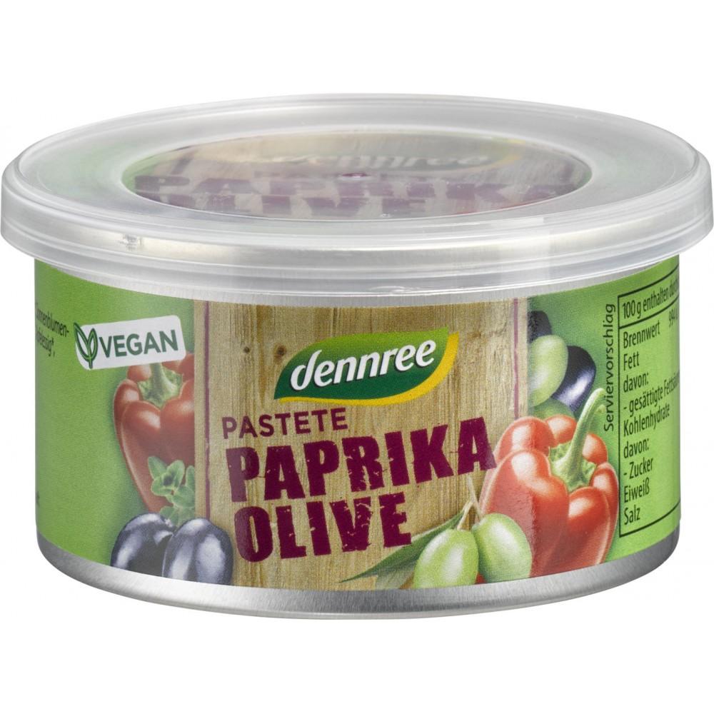 Pateu vegetal cu ardei si masline