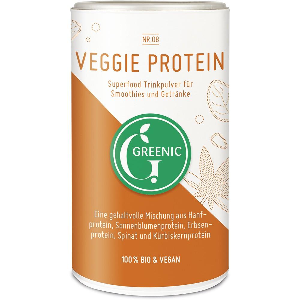 Pudra cu proteina vegetala pentru baut